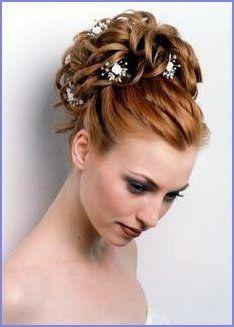 19+ Haute coiffure pour mariage inspiration