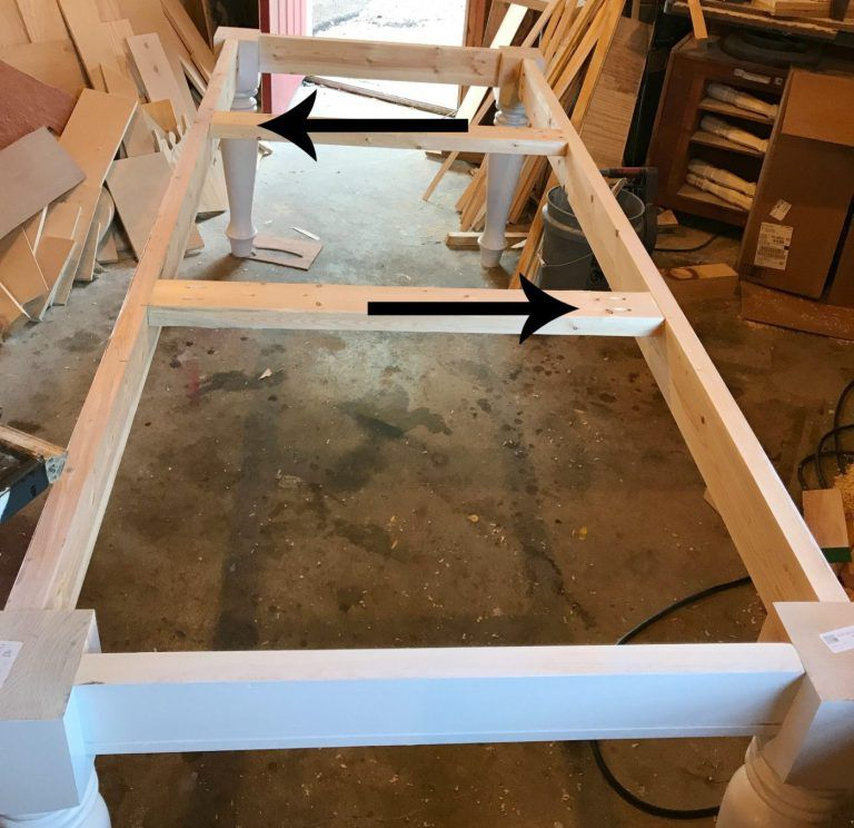 How to Build a DIY Farmhouse Dining Table images