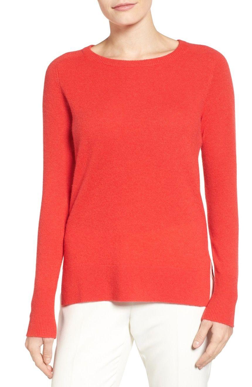 Crewneck Lightweight Cashmere Sweater | Sweaters, Cashmere ...