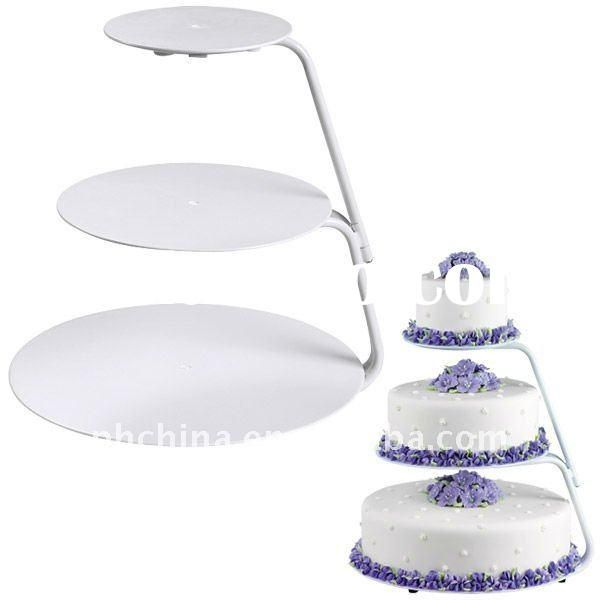 Perspex 3 Tier Cake Stand Wedding