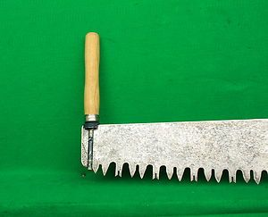 Vintage 4 Ft 6 In Uncommon Two Man Cross Cut Logging Saw With Loop Handles Ebay