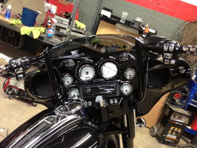 Motorcycle Stereo System Install | Motorcycle Stereo System Columbus ...
