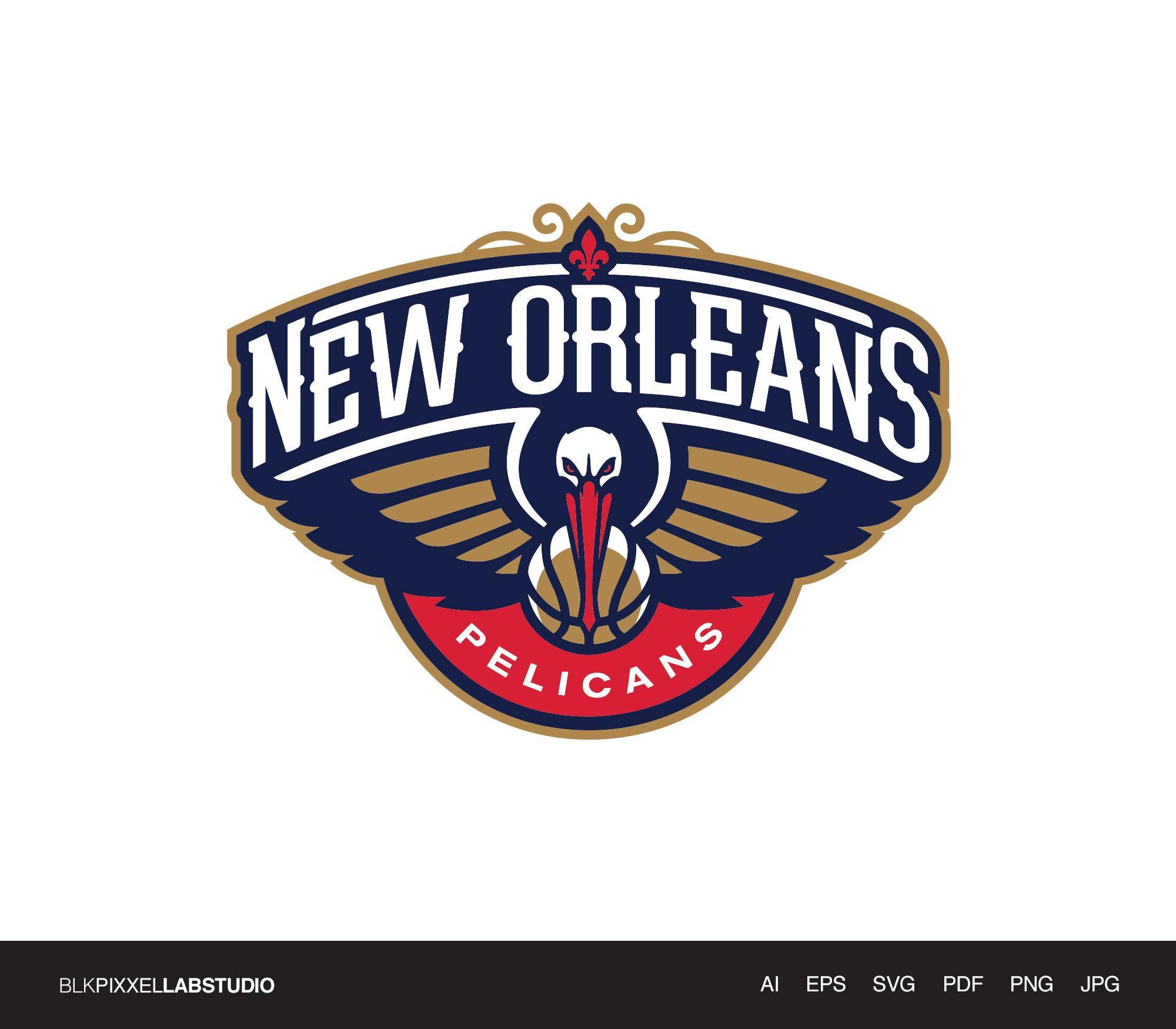New Orleans Pelicans Svg Nba Svg Husband Gift Gift For Etsy New Orleans Pelicans Nba Logo New Orleans