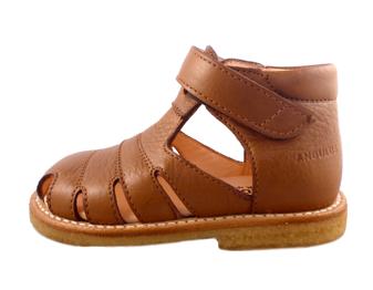 1ac026bfcb59 Køb Angulus sandal cognac m. velcro online. Gratis fragt muligt ...
