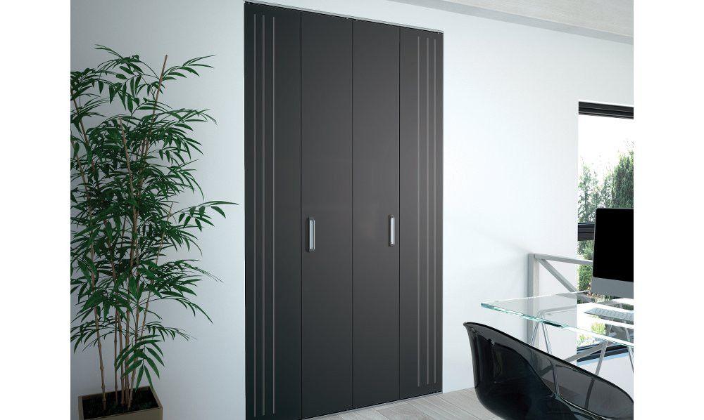Portes De Placard Pliantes Kazed X2 Rénovation Maison