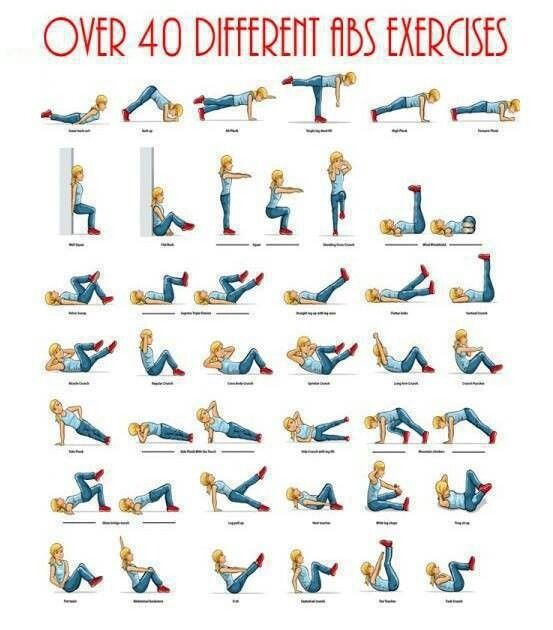 40 different an exercises