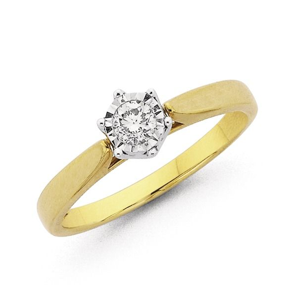 Solitaire Diamond Rings Prouds