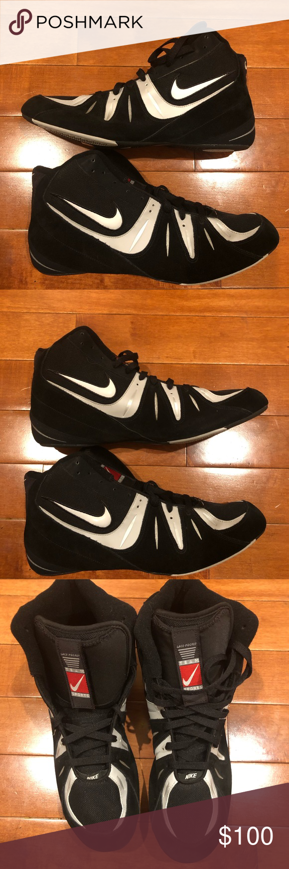 24a509a3e7ba 2007 Nike wrestling shoes Excellent condition vintage 2007 Nike wrestling  shoes size 15 Nike Shoes Sneakers
