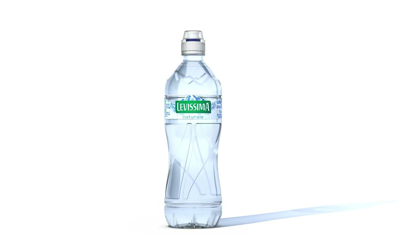 Levissima La75 Water Bottle Design Bottle Design Packaging