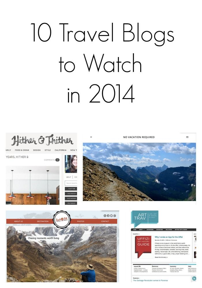 10 Travel Blogs to Watch in 2014 || This Is My Happiness Travel Blog