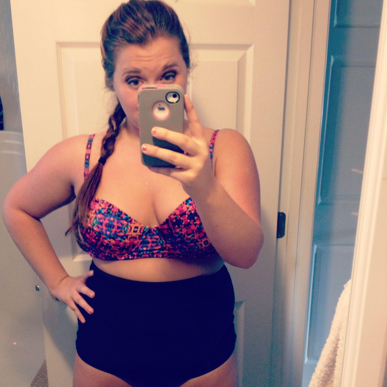 high waisted swim suit top target bottom layne bryant