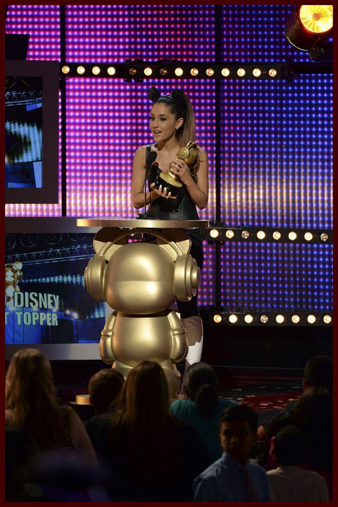 ariana grande wins at radio disney music awards   ... Ariana Grande & More Win Big at 2014 Radio Disney Music Awards   Young