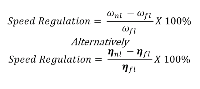 Speed Regulation Definition And Mathematical Formula Ohms Law