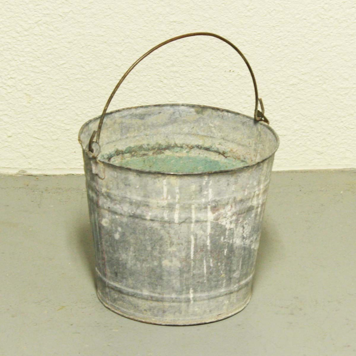 old metal bucket