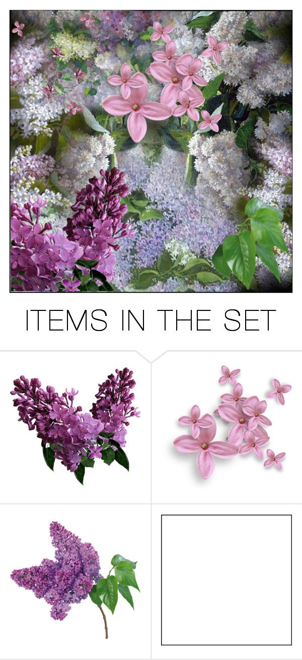 """""""Lilacs"""" by pumsiks ❤ liked on Polyvore featuring art"""