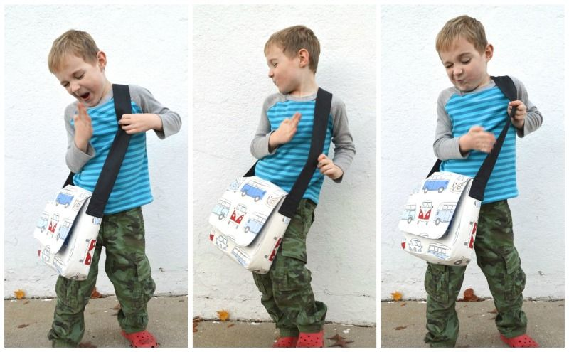 Messenger Bag For Kids Modified Pattern From A Hy Sch