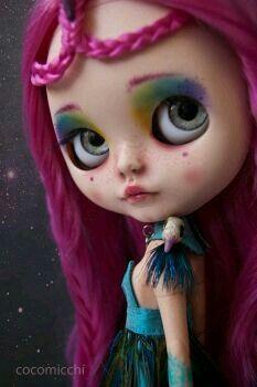 Blythe'Hair Pink