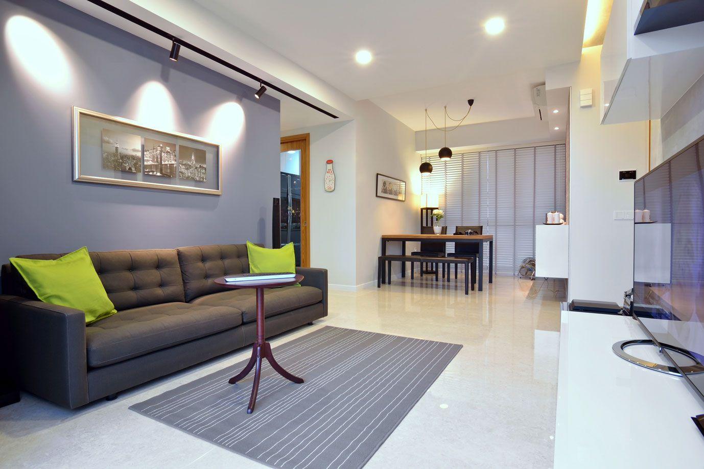 Apartment In Singaporeknq Associates 3  Interior Design Mesmerizing Design Living Room Minimalist Inspiration