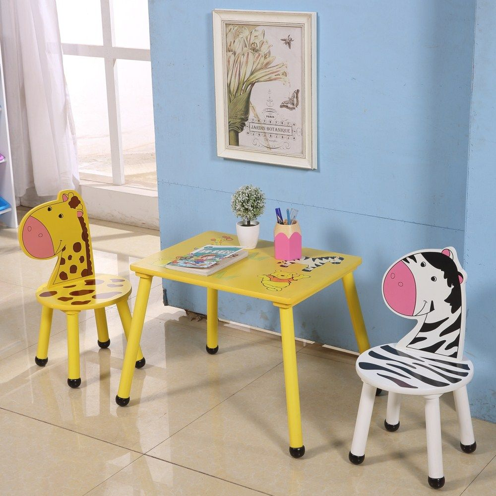 Wooden Study Table And Chair Set For Kids Preschool Children Furniture Sets Buy Wooden Study Tabl Study Room Design Study Table And Chair Study Table Designs