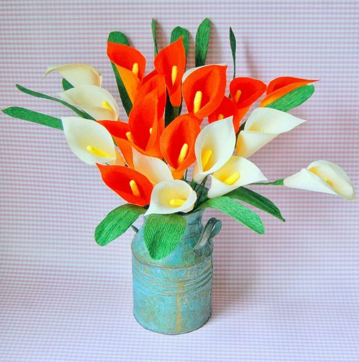 comment créer une fleur en papier crépon | papier crépon, fleur