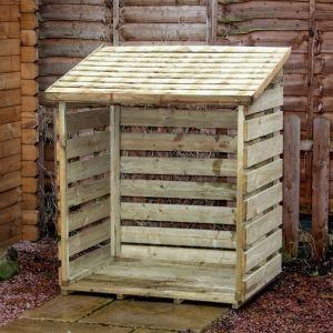 diy wooden pallet log holzpaletten holzkisten holz projekte wohnen pinterest pallar. Black Bedroom Furniture Sets. Home Design Ideas