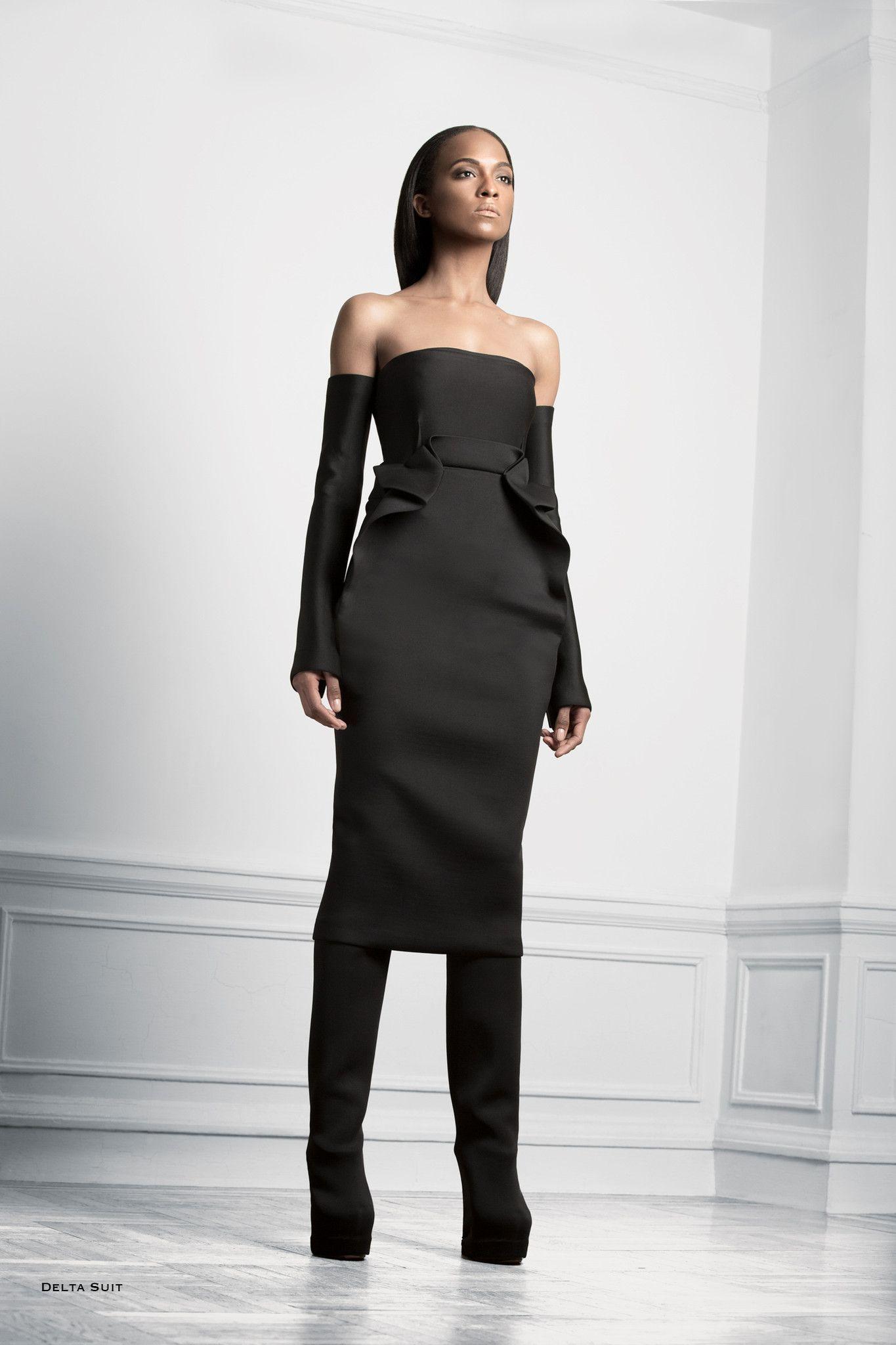 Delta Suit (947.50 Deposit) Strapless dress formal