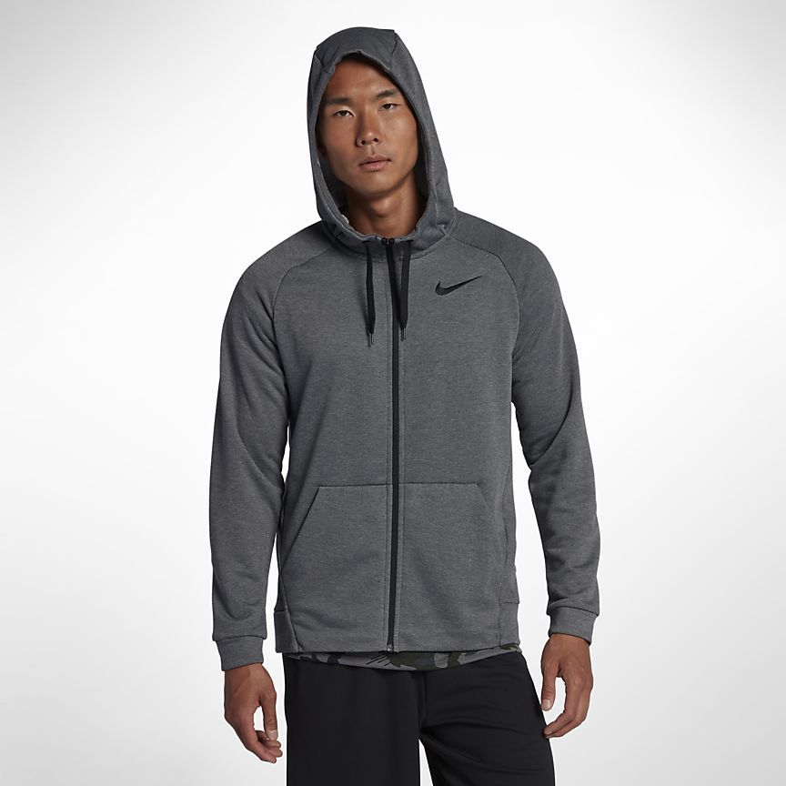 d7e07cd8 Dri-FIT Men's Full-Zip Training Hoodie | Wishlist | Nike dri fit ...