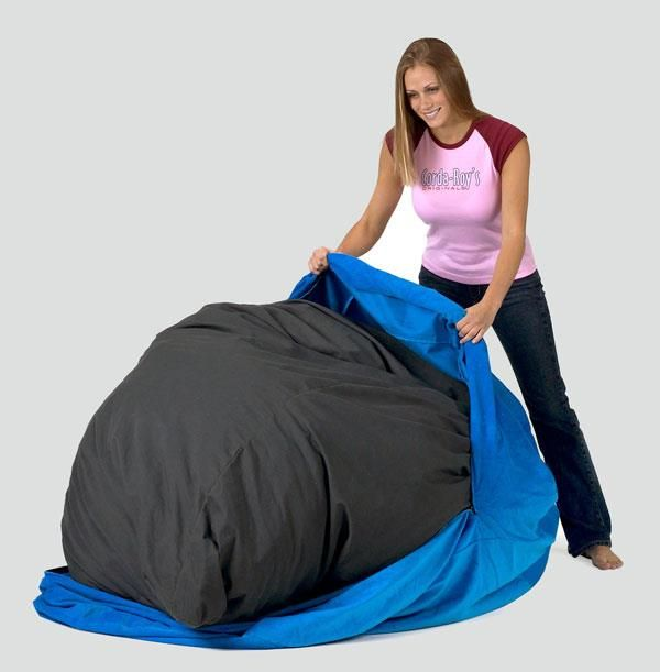 Corduroy Bean Bag Chair Bed