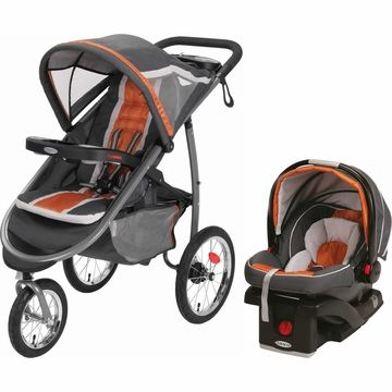 Gracco Infant To 35lbs Car Seat And Jogging Stroller