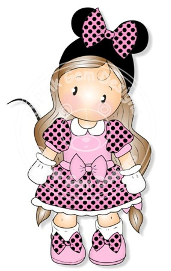 Digital Digi Stamp Mini Chloe