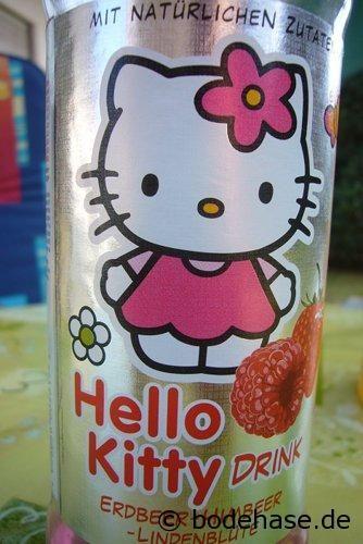 Unser Kind liebt das Getränk von und mit Hello Kitty - Keiner weiß warum!