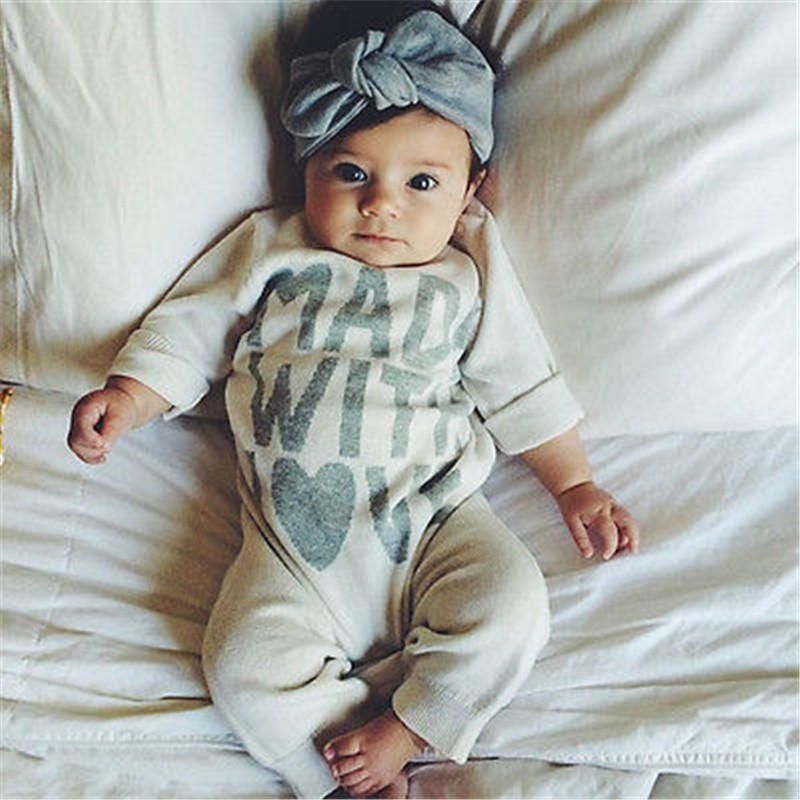 Infant Warm Clothes Long Sleeve Baby Bodysuit