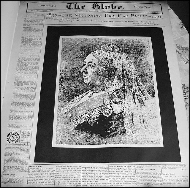The Globe Toronto Wednesday January 23 1901 History Newspaper Cover Newspaper Front Pages