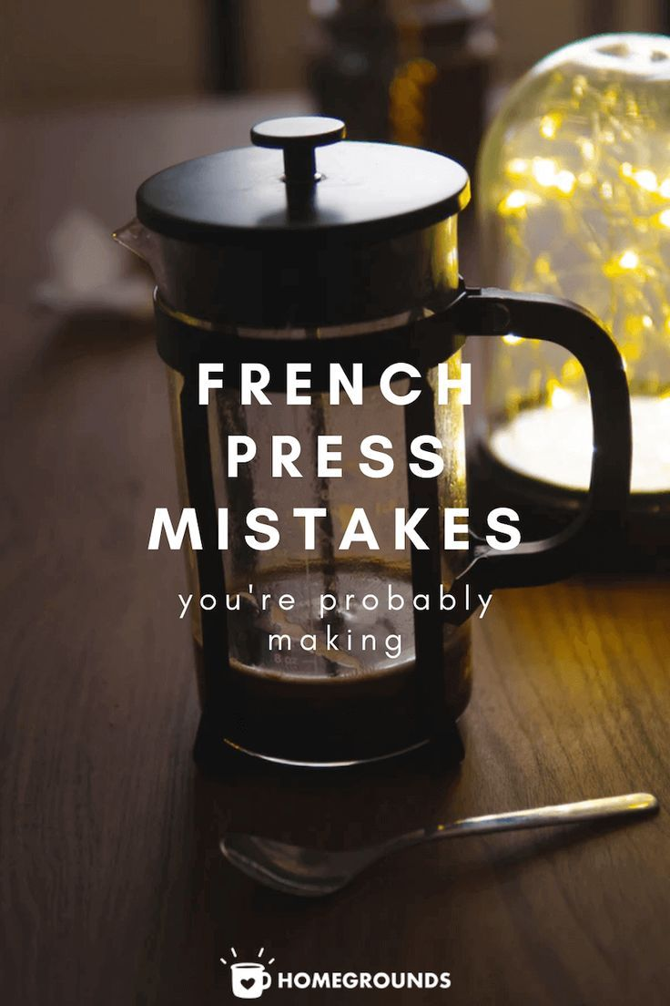 In this article, we outline the most common french press