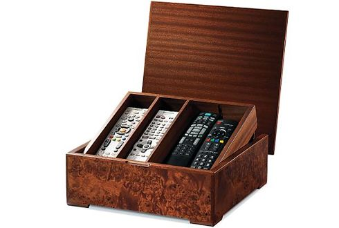 Elegant Remote Control Caddy Wood Things Pinterest