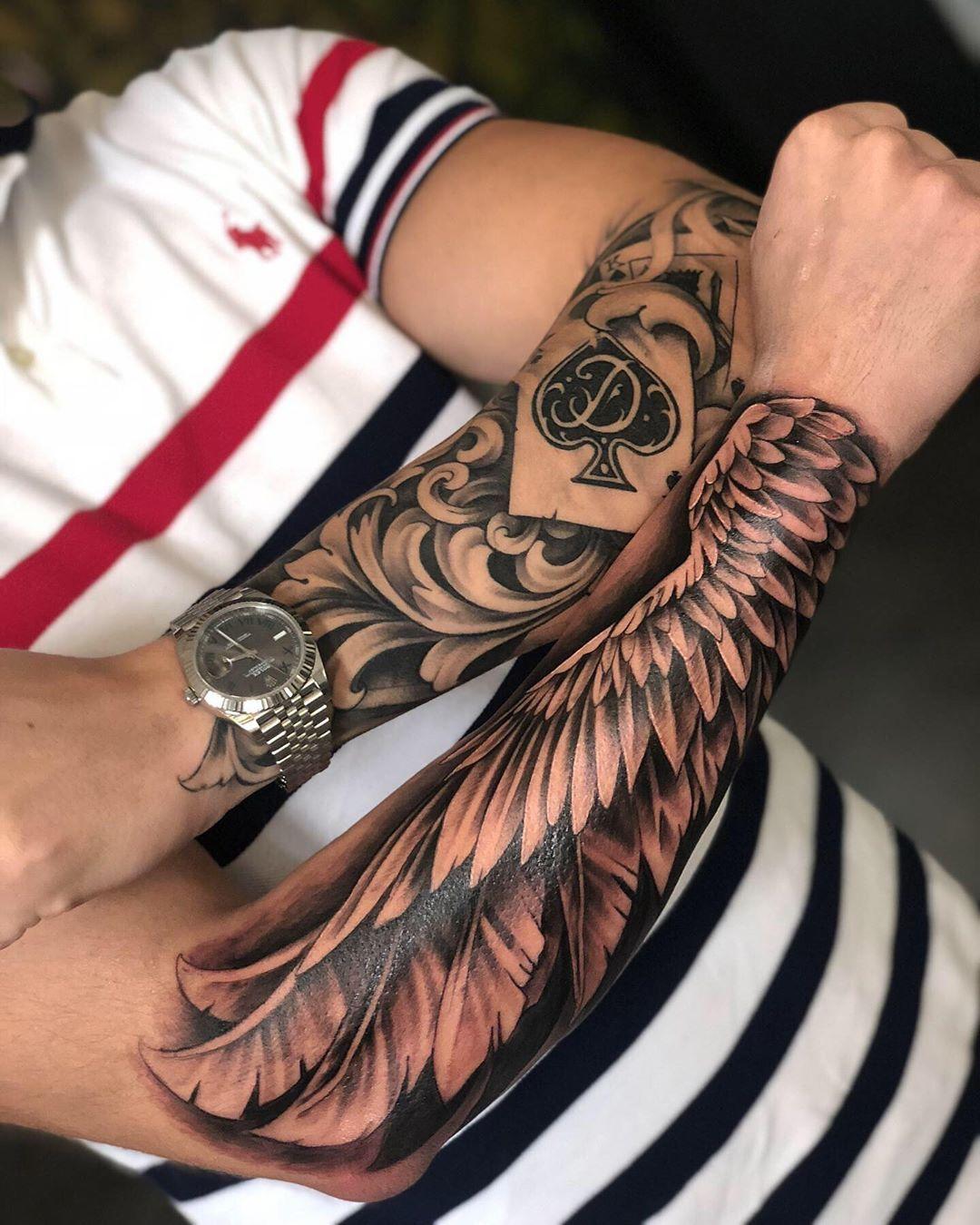 Follo | Coole unterarm tätowierungen, Unterarm tattoo mann