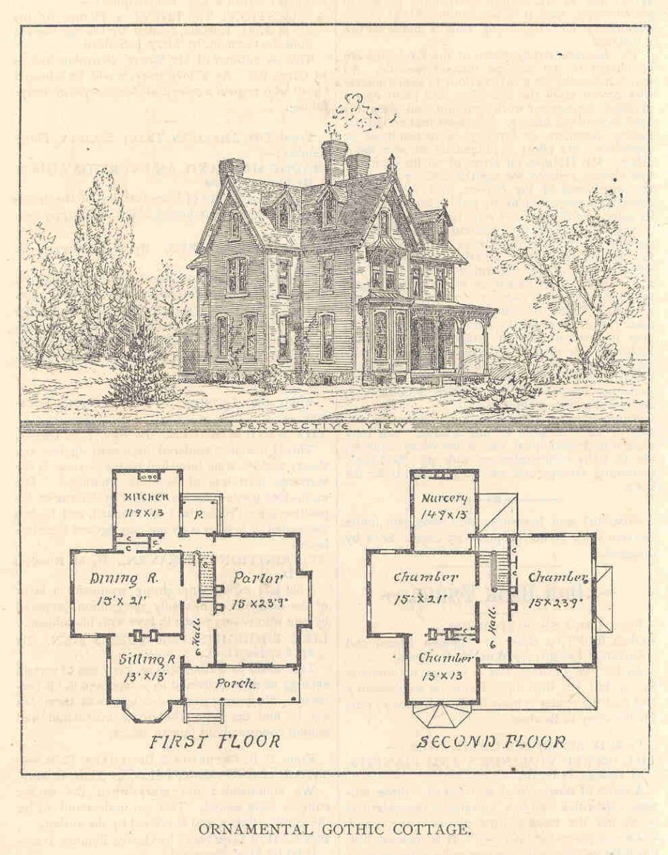 Baby Nursery Gothic House Plans Homes Home With Victorian