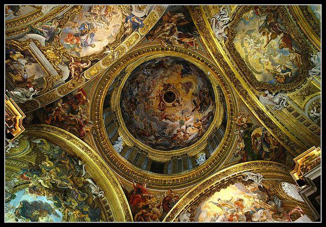 Cupola del Gesù, Rome.