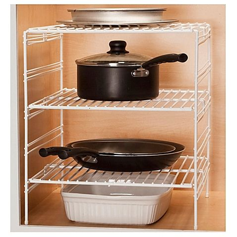 Make Way For More E In Your Kitchen Cabinet With The Grayline Adjule Helper Shelf