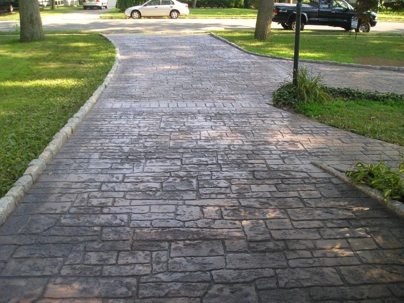 Stamped Concrete Driveways Driveways Gates That I Love