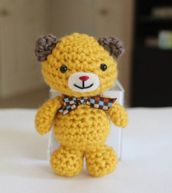 Free Mini Bear 5 Inches Tall By Little Muggles Amigurumi