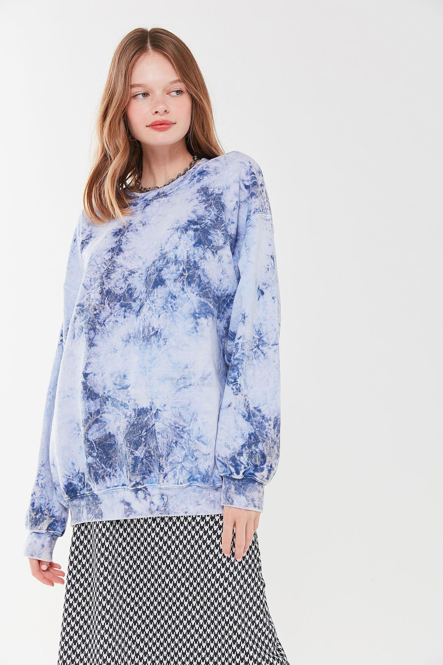 Urban Renewal tie-dyed sweatshirt topdress