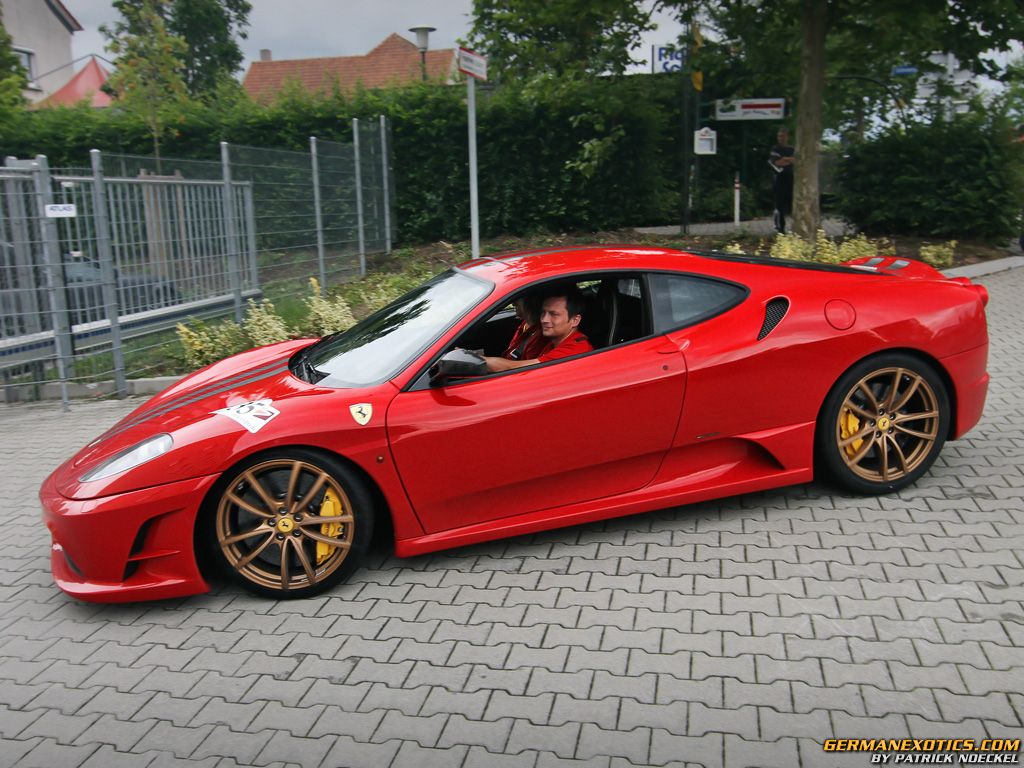 Ferrari gold wheels images galleries for Red with gold
