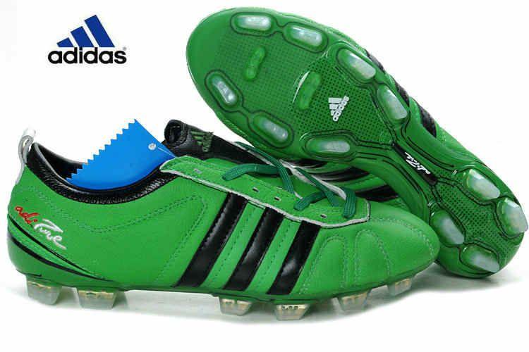 Adidas adiPure IV FG 2012 Green black Botas De Fútbol Negras 907d436363dfd