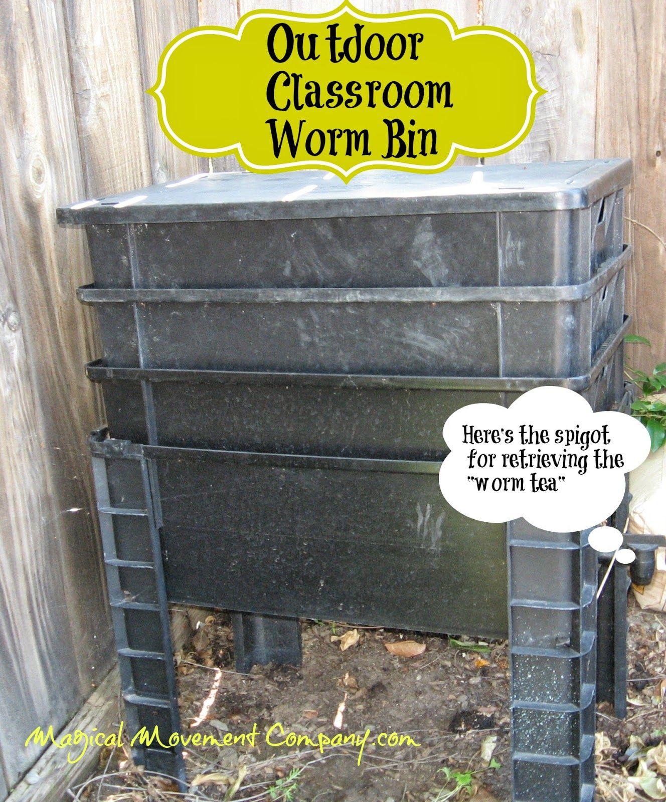 Outdoor Classroom Winter Fun With Garden Worms