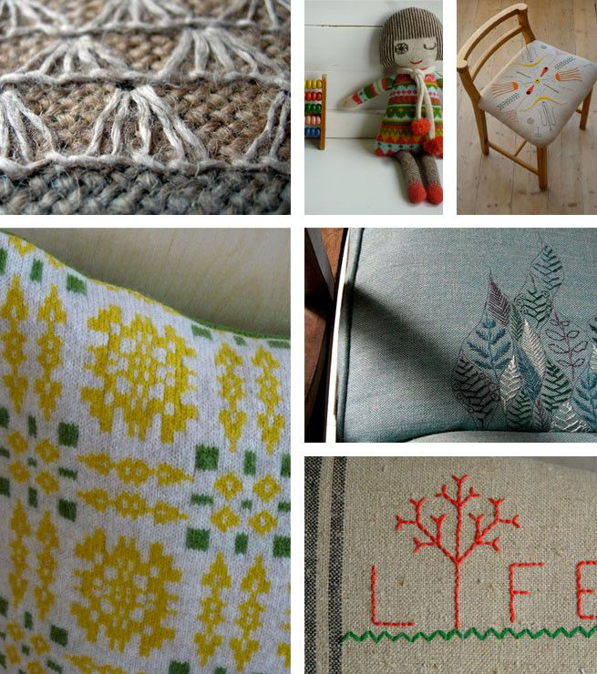 Sally Nencini - knits and upholstery