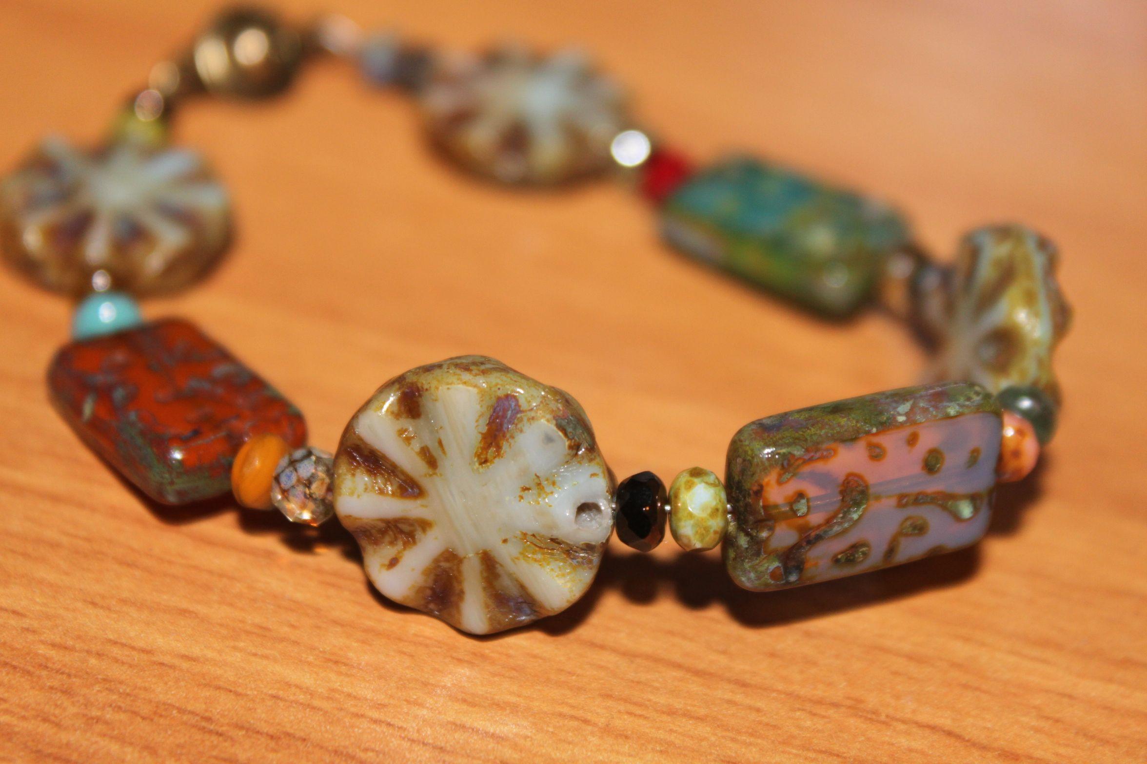 handmade Mixed Picasso bracelet