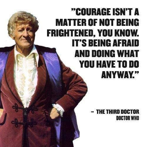 Quote - Doctor Who - my favorite Dr Who