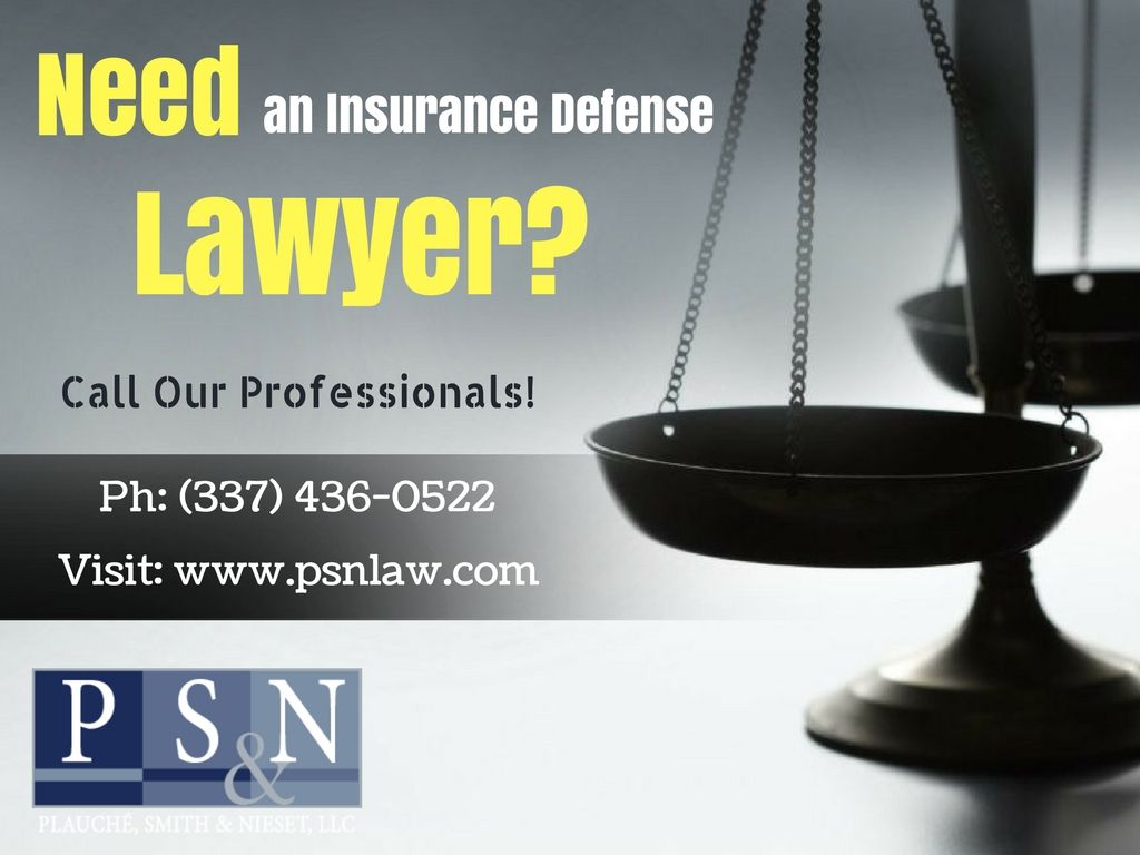 Insurance Claims Defense Lawyers In Lake Charles Defense