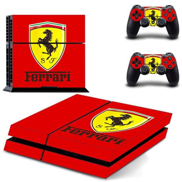 MagicSkin Vinyl Skin Sticker Cover Decal for Playstation PS4 PRO Console and Remote Controllers